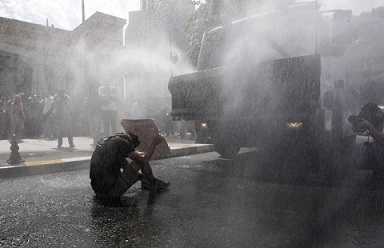 Police Attack Peaceful Protesters in Istanbul